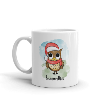 Santa Owl - Gift Mug