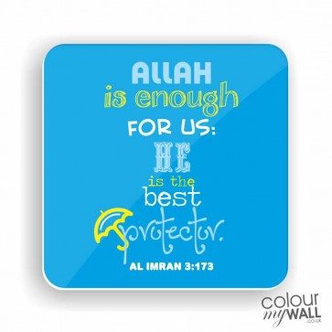 Allah is enough for us - Islamic Fridge Magnet