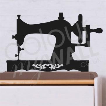 Antique Crank handled sweing machine