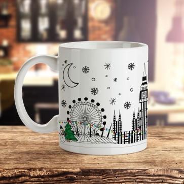 Christmas in London - Gift Mug