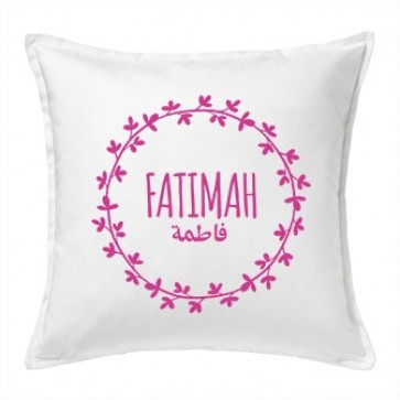 Personalised Floral Cushion
