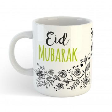 Eid Mubarak Floral  - Mug