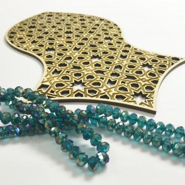 The Prophet's Sandal Laser-cut Geometric Deisgn - Nalain Shareef