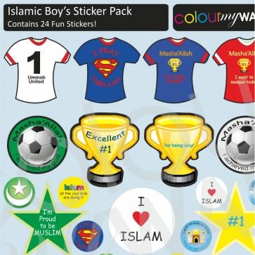 Islamic Boys Sticker Pack