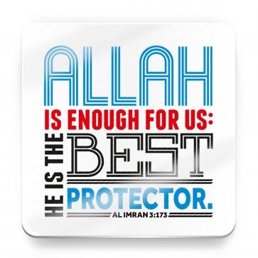 Allah is enough for us - Al Imran 3:173 - Magnet