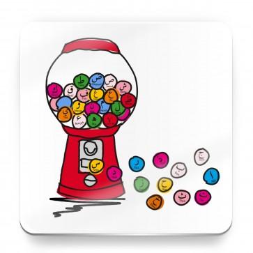 Bubblegum Alif Baa Taa Arabic Alphabet - Magnet