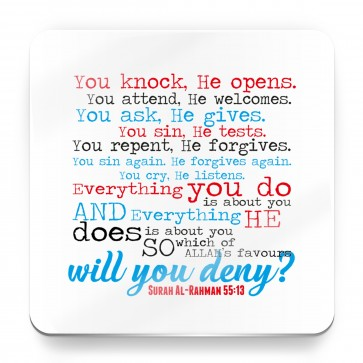 Which of Allah's favours will you deny? Quran Quote - Magnet