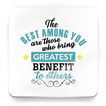 The best among you, Prophet Muhammad Quote - Magnet