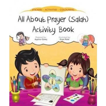 All About Prayer (Salah) Activity Book 3+