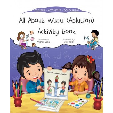 All About Wudu (Ablution) Activity Book 3+