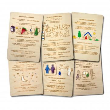 Set of 6 Dua Supplication Plaques