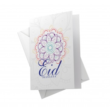 EID MUBARAK Cards- Floral Collection -  12 PACK-A6