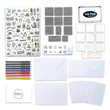 Eid Themed Stamp & Sticker Kit by ColourMyWall