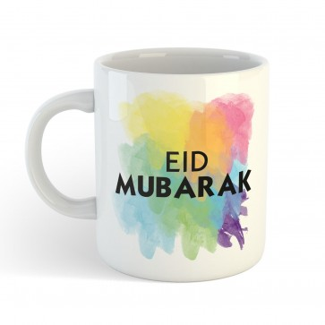 Eid Mubarak Watercolour - Mug