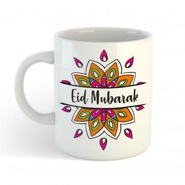 Eid Mubarak Mandala - Mug