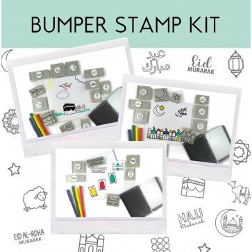 Eid / Ramadan / Hajj Bumper Stamp & Sticker Kit by ColourMyWall