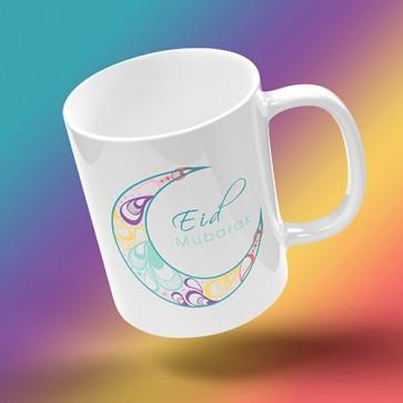 Eid Mug - Floral Crescent