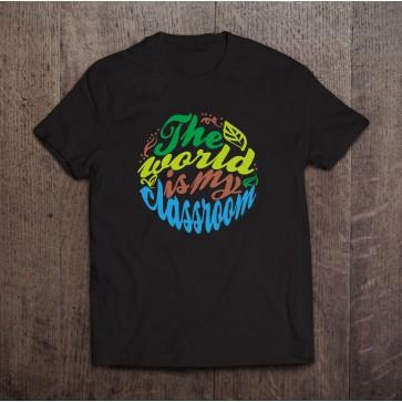 The World is My Classroom T-shirt - Homeschool Wear