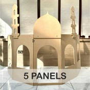 5 Panels Role-play building structure with add-on Masjid or Shop attachment