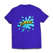 Personalised Splash Boy's T-Shirt Arabic & English Name