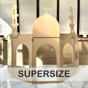 Supersize 5 Panels Role-play building structure with add-on Masjid or Shop attachment