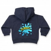 Personalised Splash Girl's & Boy's Toddler Hoodie Arabic & English Name